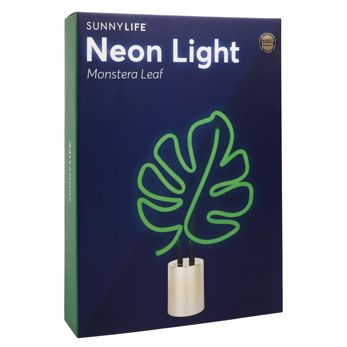 Sunnylife Neon Light Large AUS | Monstera Leaf