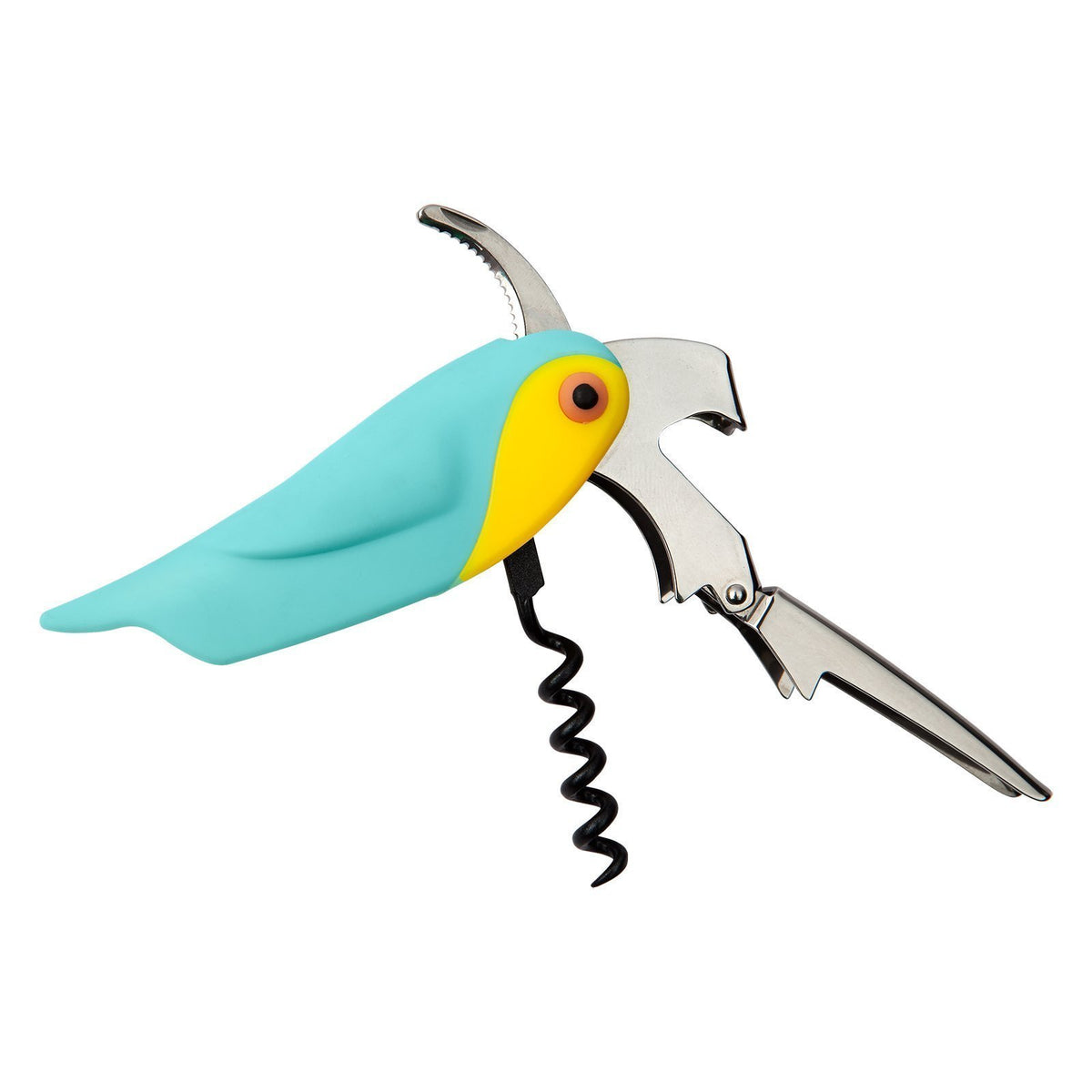 Sunnylife | Corkscrew Bottle Opener | Macaw