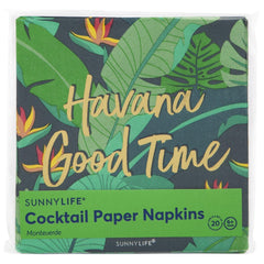 Sunnylife | Cocktail Paper Napkins | Monteverde