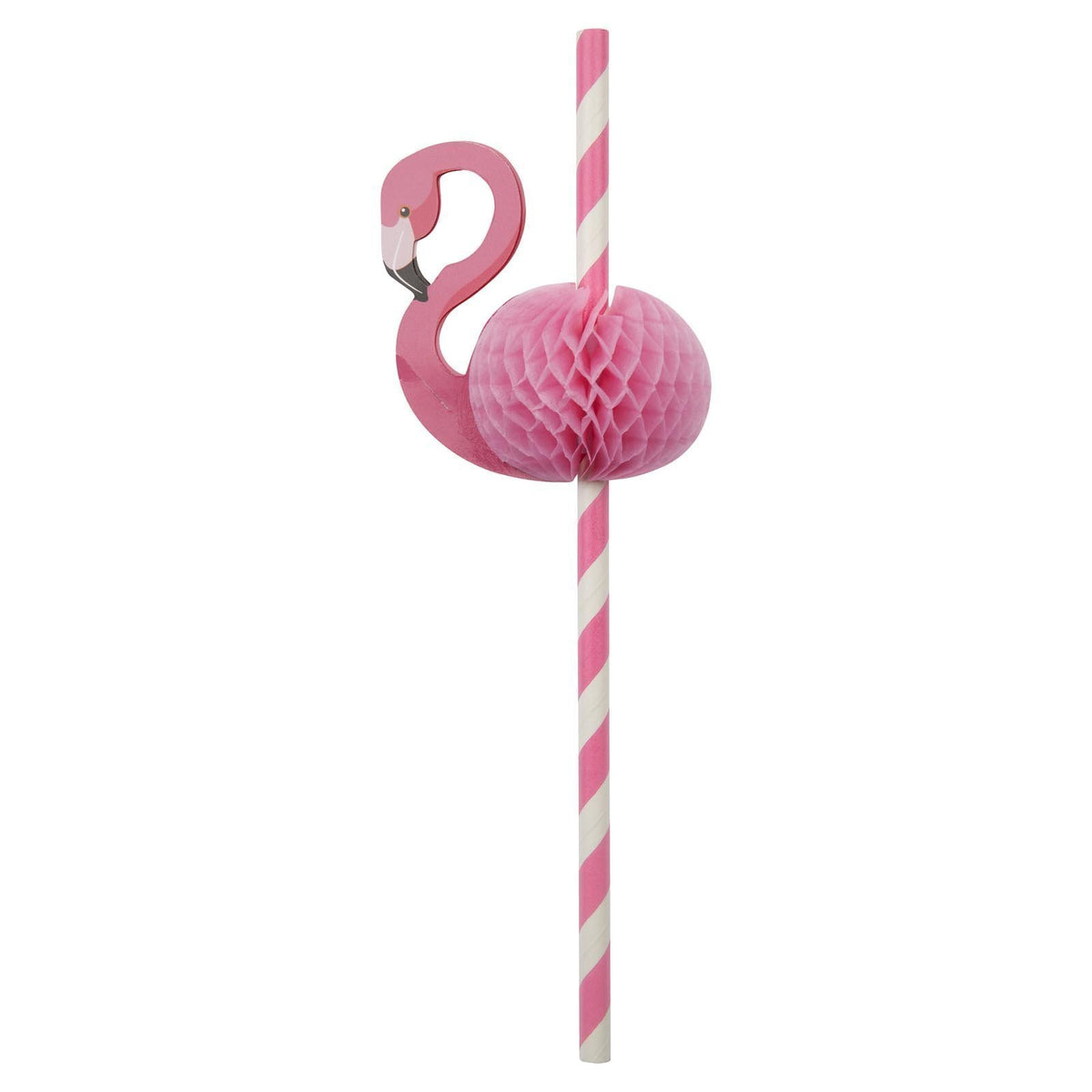 Sunnylife | Honeycomb Straws | Flamingo