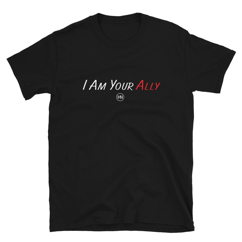 "HYBRID NATION ""ALLY"" TEE Unisex T-Shirt Hybrid Nation - Apparel (on blanks) S"