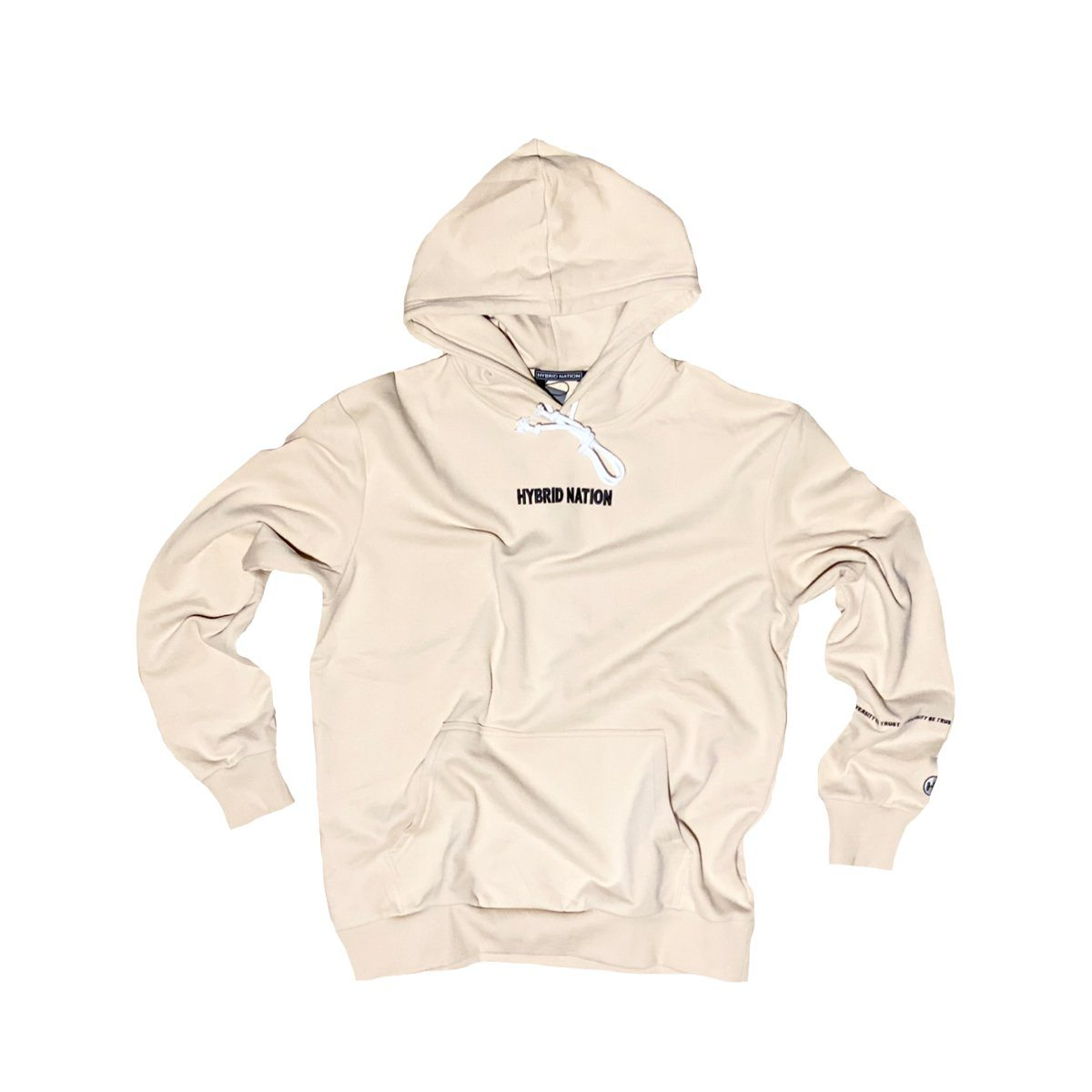 HYBRID NATION BASICS HOODIE (SAND) Men's Basics Sweatshirt Hybrid Nation (China) XS