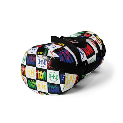 "HYBRID NATION ""FLAVORS"" DUFFLE BAG Duffle Bag Printify"