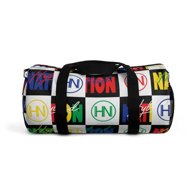 "HYBRID NATION ""FLAVORS"" DUFFLE BAG Duffle Bag Printify Small"