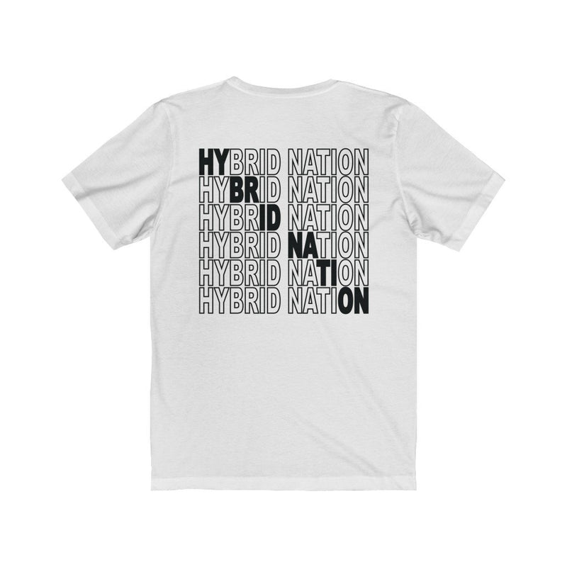 HYBRID NATION 'IDWT LOGO PATCH' TEE