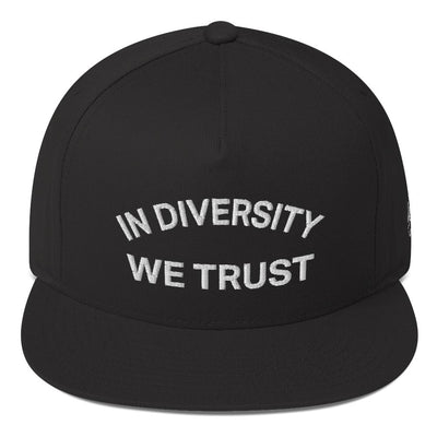 Hybrid Nation 'IDWT' Snapback Snapback Hat Hybrid Nation - Accessories (on blanks) Black