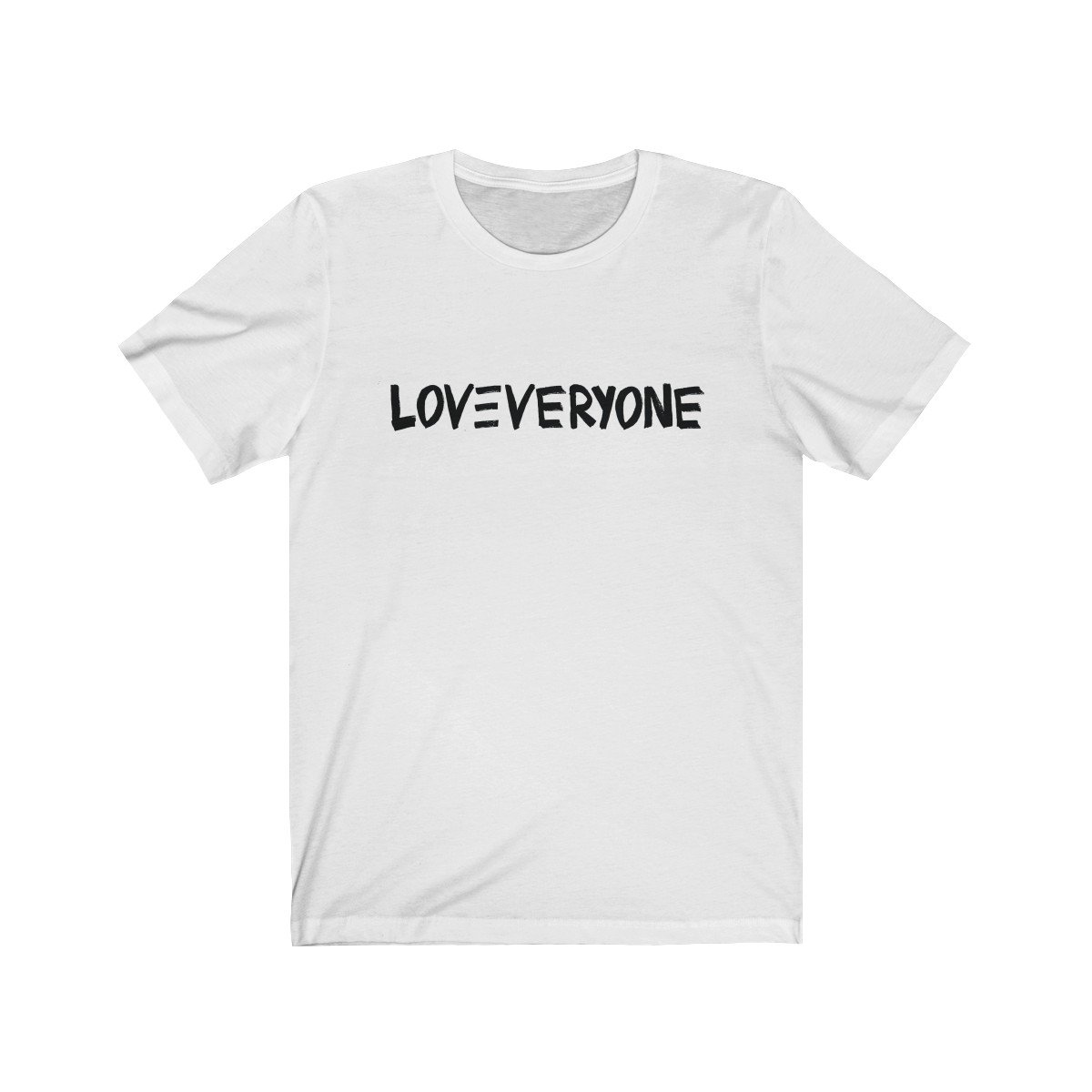 HYBRID NATION LOVE EVERYONE TEE (Sketch Ed.)