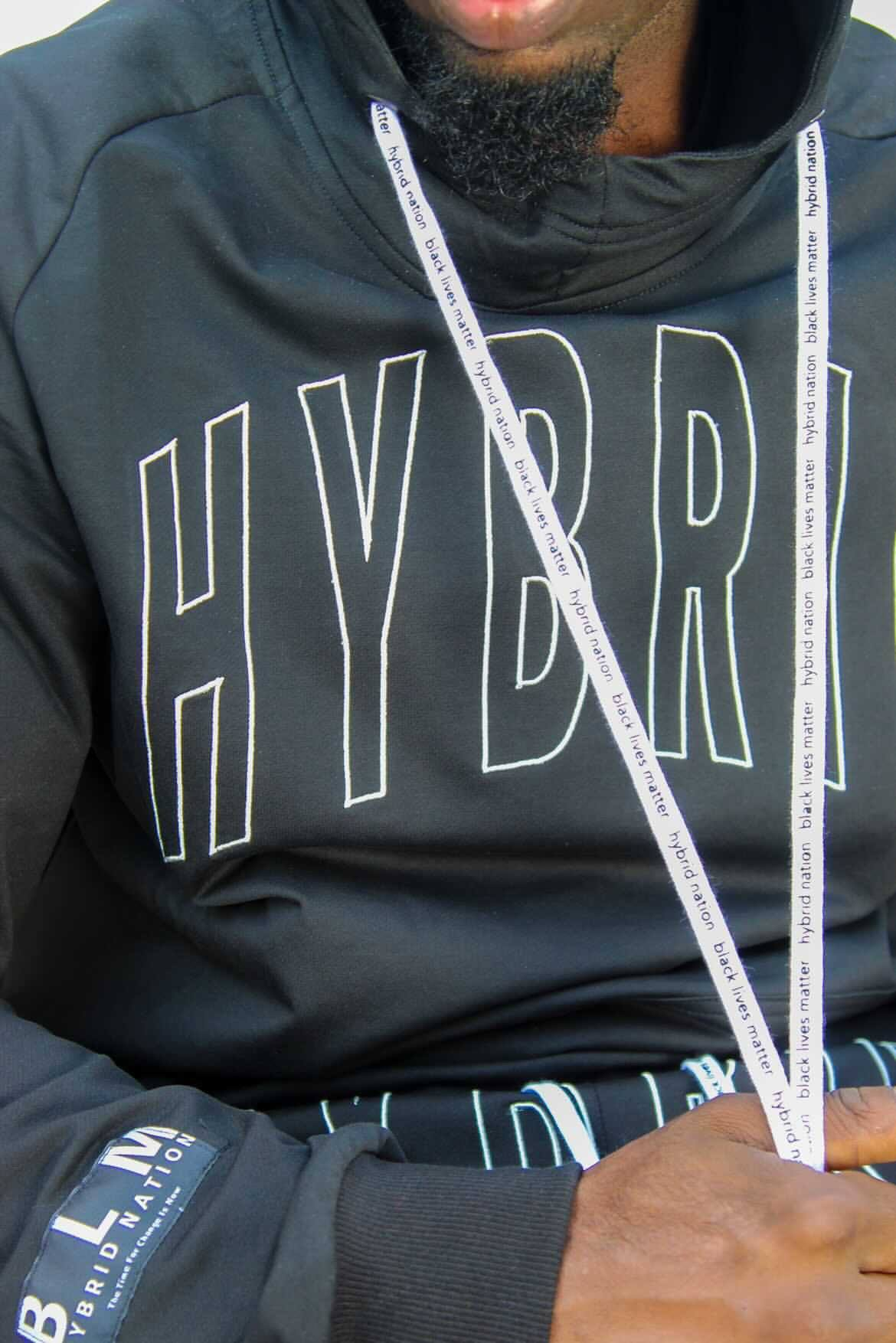 HYBRID NATION PERFORMANCE HOODIE Men's Performance Hoodies Hybrid Nation (China)