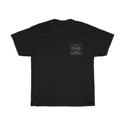 HYBRID NATION S/S LOGO TEE T-Shirt Printify Black S