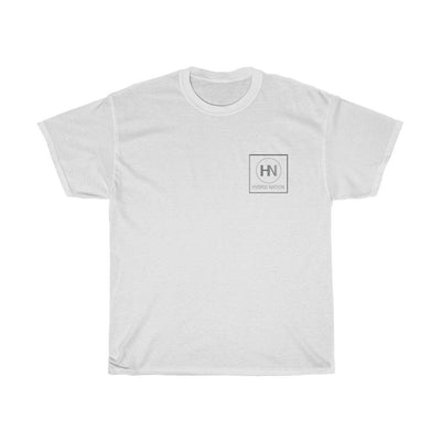 HYBRID NATION S/S LOGO TEE T-Shirt Printify White S