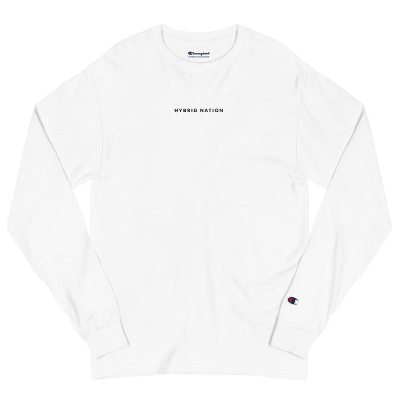"HYBRID NATION SS20 ""HOMAGE"" L/S TEE Long Sleeve Tee Printful"