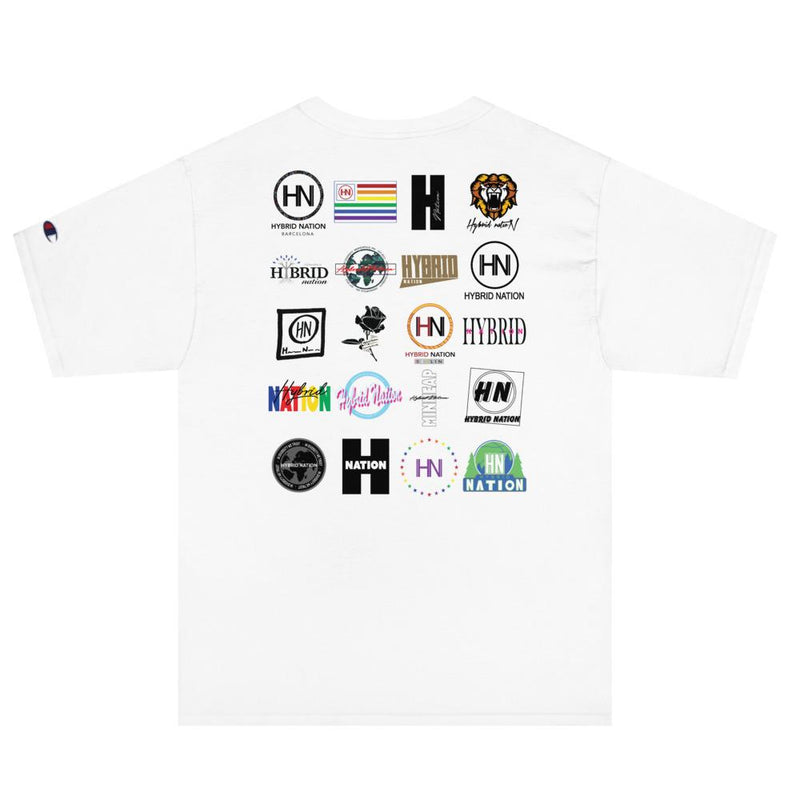 "HYBRID NATION SS20 ""HOMAGE"" TEE MEN'S TEE Printful S"
