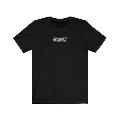 HYBRID NATION 'STATEMENT' TEE VOL. 2 T-Shirt Printify Black XS