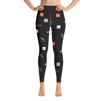 HYBRID NATION WOMEN AOP LEGGINGS Women's Leggings Hybrid Nation XS