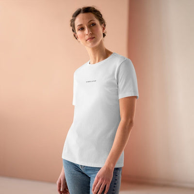 HYBRID NATION WOMEN 'BACK TO BASICS' TEE Women's T-Shirt Printify