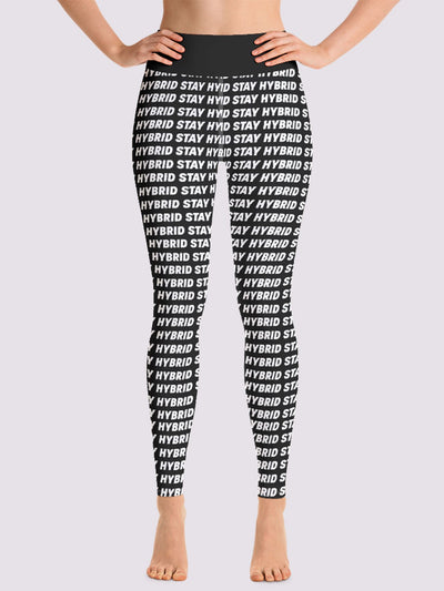 HYBRID NATION WOMEN SPORT FLEX LEGGINGS (BOLD) Women's Leggings Printful