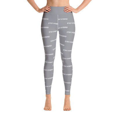 HYBRID NATION WOMEN SPORT FLEX LEGGINGS Women's Leggings Printful XS Grey