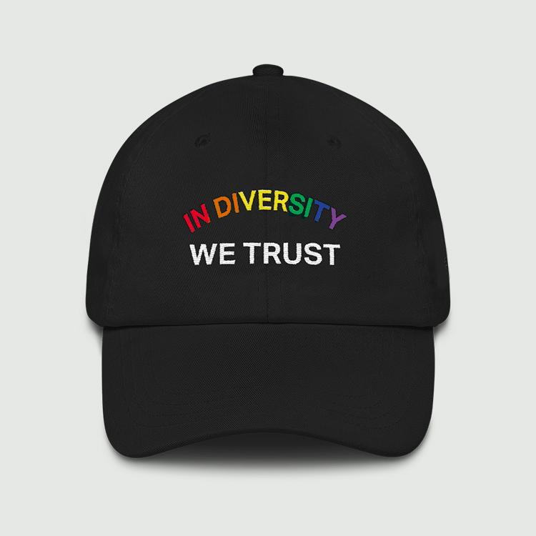 PRIDE - 'IN DIVERSITY WE TRUST' DAD HAT