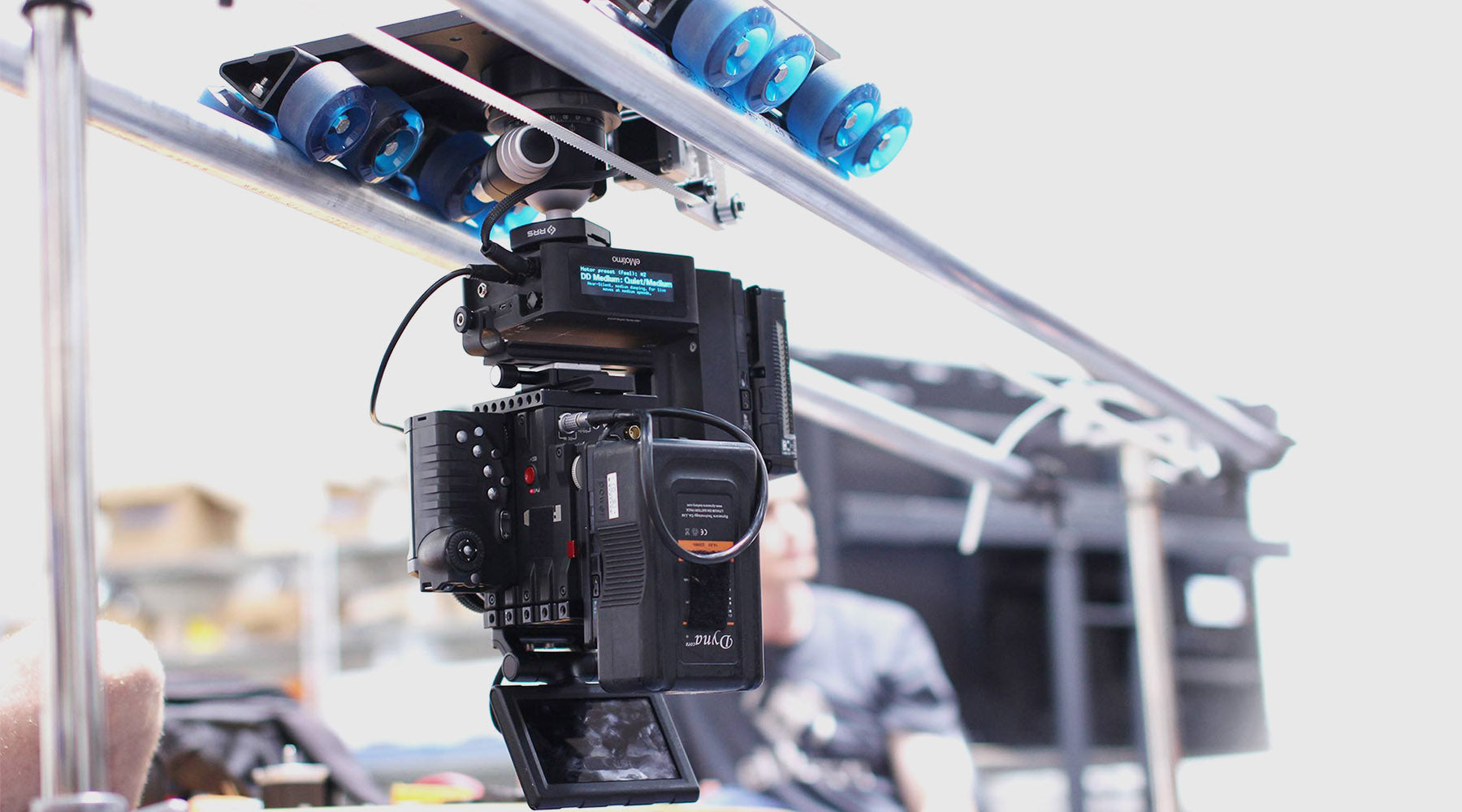 Red digital cinema, blackmagic, motion control slider, Dana Dolly, best slider camera