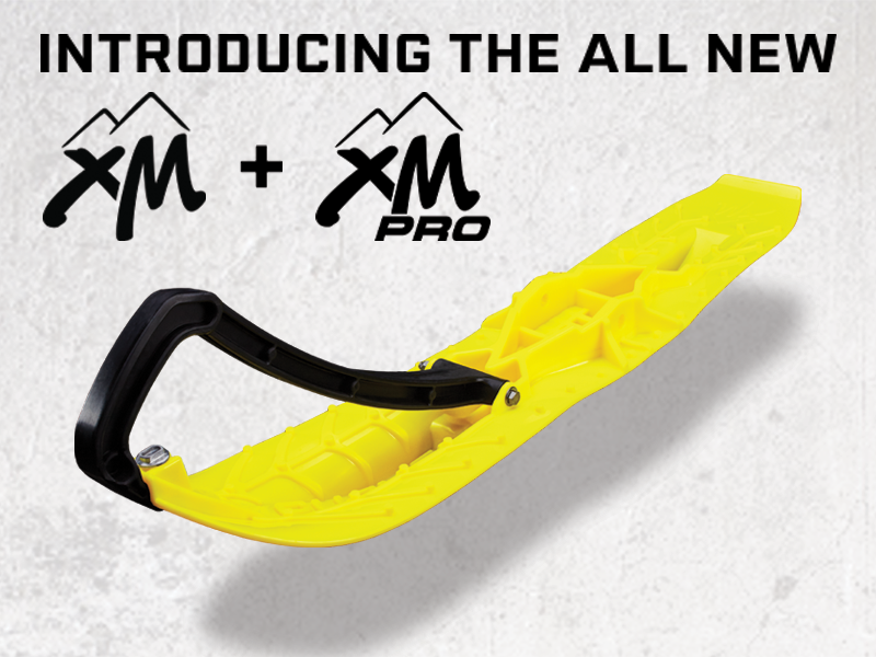 Introducing the XM and XM PRO Mountain Skis