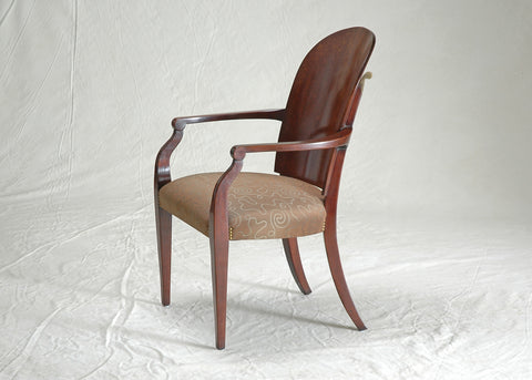 #4017 Swept Back Arm Chair