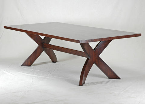 #4480 X Base Dining Table