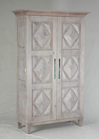 #5090 Diamond Panel Armoire