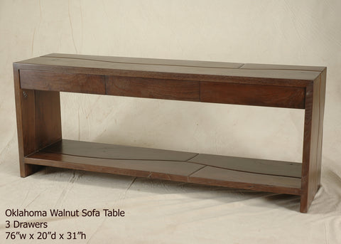 #6240 Oklahoma Walnut Server/Sofa Table