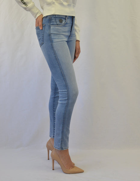 Truth High Rise Skinny in Zest Wash