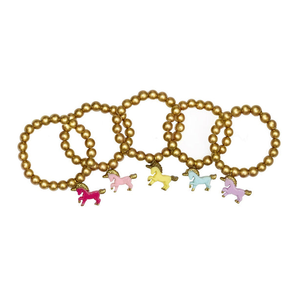 Golden Unicorn bracelets
