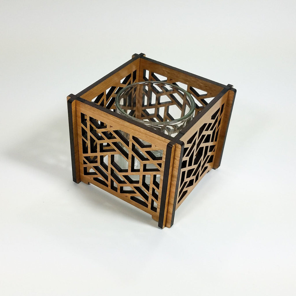 Lattice Star Votive Hurricane