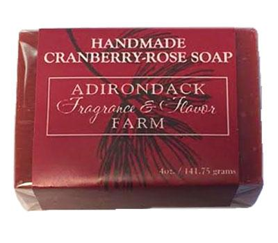 ADK Handmade Cranberry Rose Soap - 4oz bar