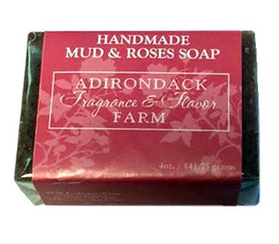 ADK Handmade Mud & Roses Soap - 4oz bar