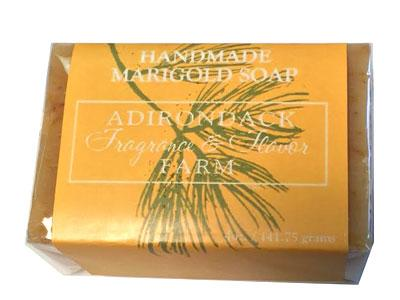 ADK Handmade Marigold Soap -  4oz bar