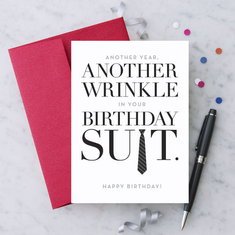 Greeting cards made in usa american made anytownusa another wrinkle in your birthday suit m4hsunfo