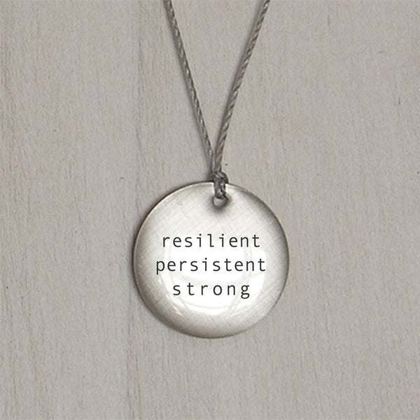 Resilient Persistent Strong Pendant