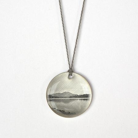 Small Mountain Lake Pendant