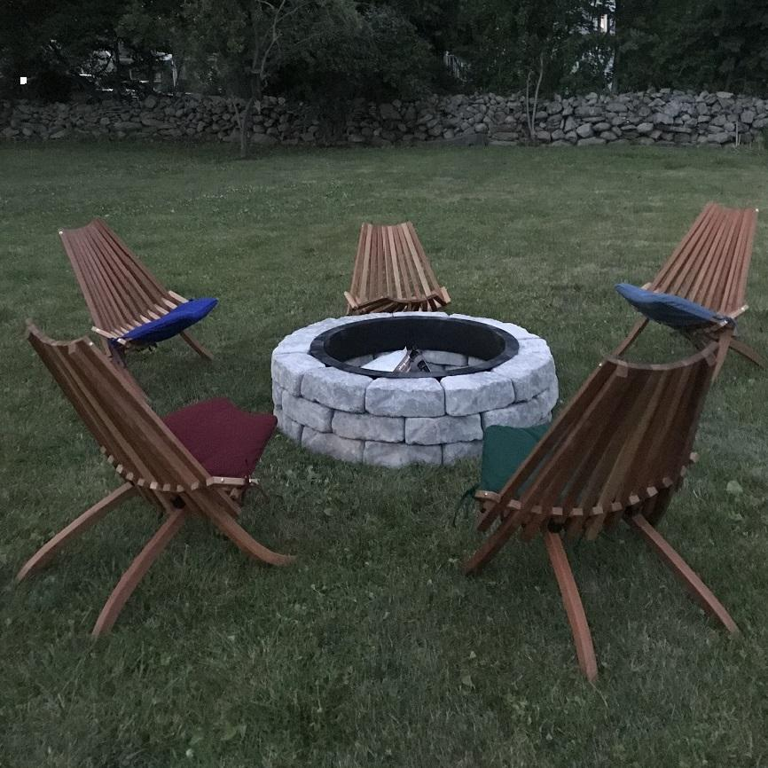 Fire-Pit Camp Chair
