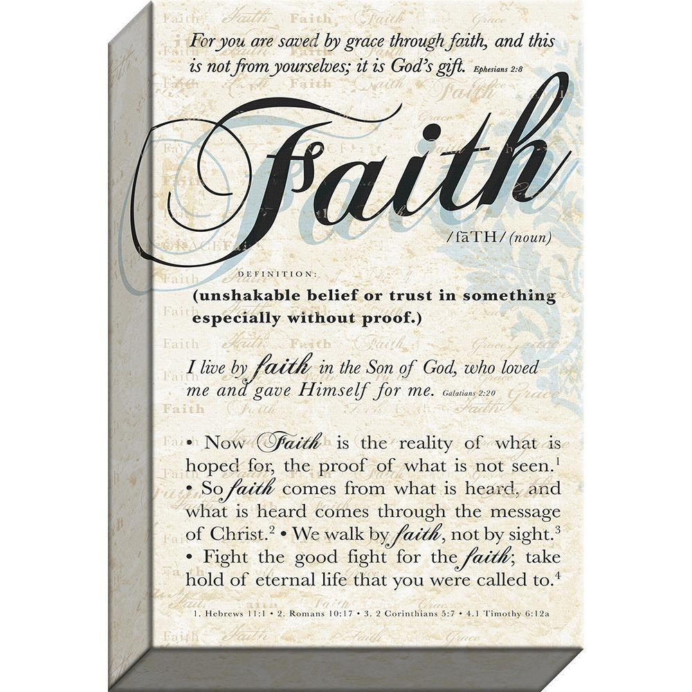 Faith Gallery-wrapped Canvas