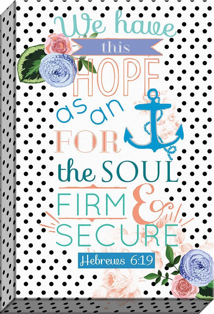 Hope - Anchor Of The Soul Canvas