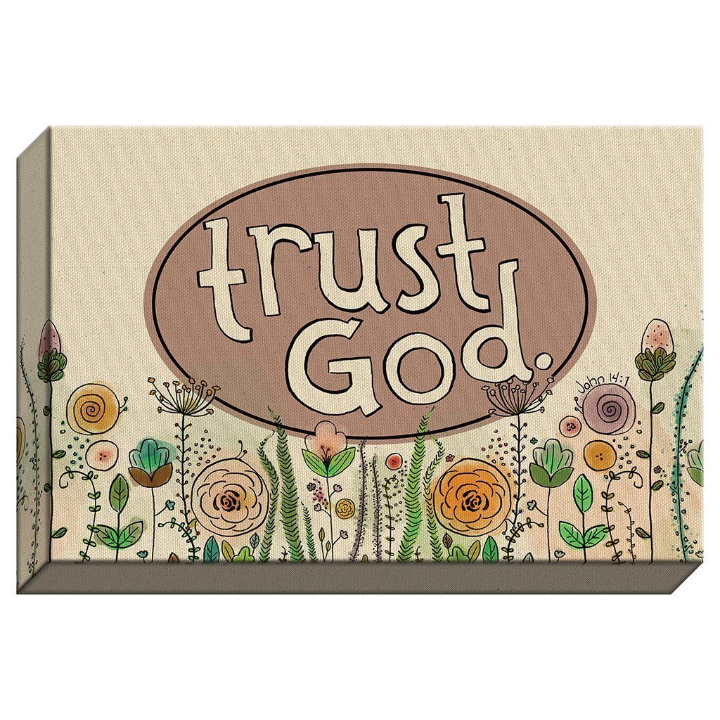 Trust God Canvas (20143)