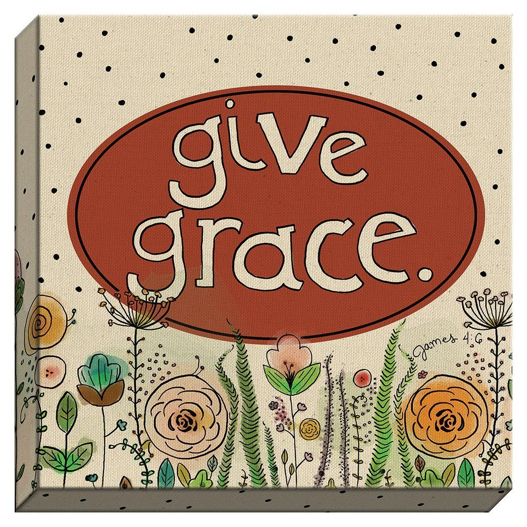 Give Grace Canvas (20145)