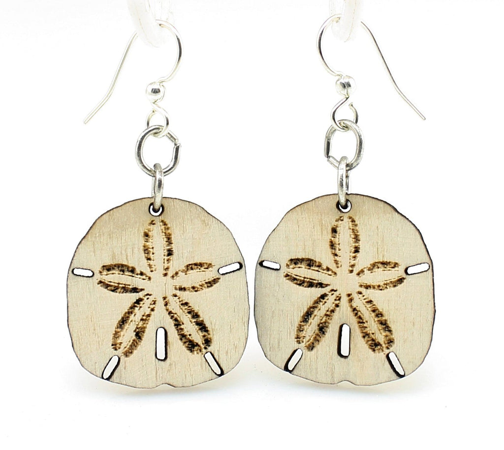 Sand Dollar Earrings #1195