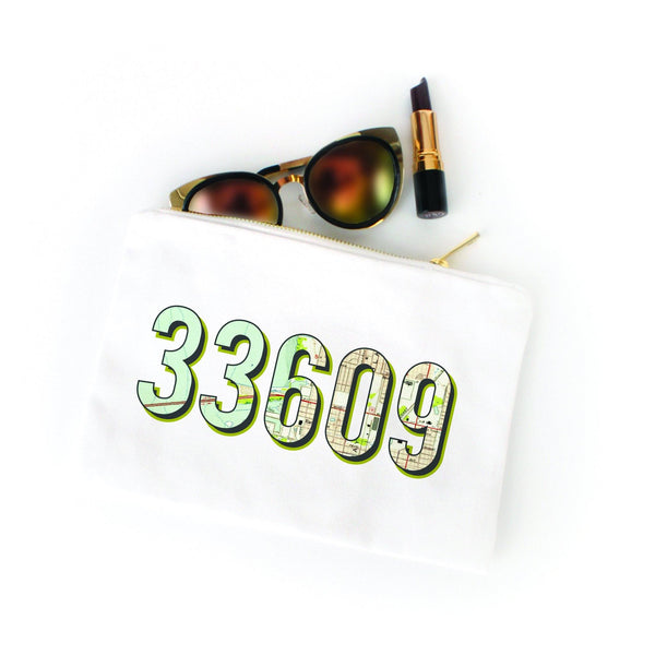 Custom ZIP code pouch - available in any ZIP or Area code!