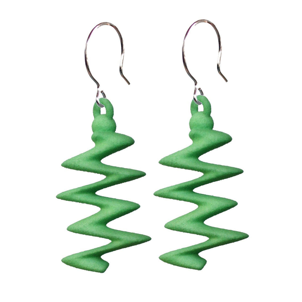Zigzagium Earrings