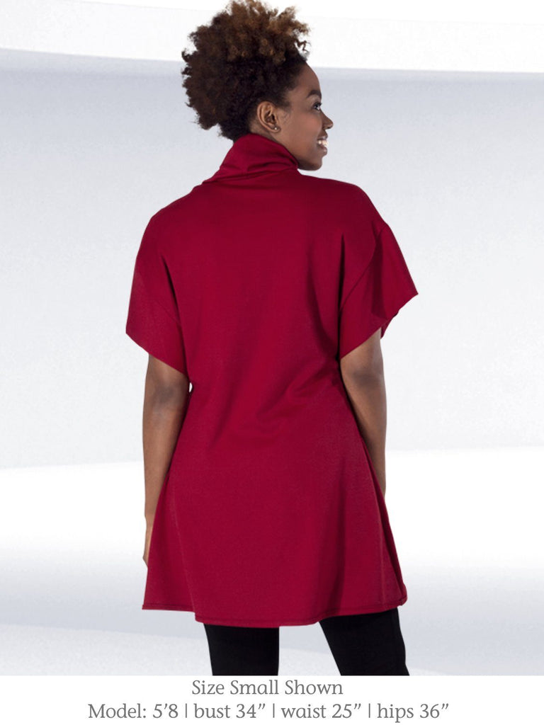 Red-Cameron-Tunic-from-Erin-Draper-Structured-Ponte-Roma-Made-in-USA-Back.jpg