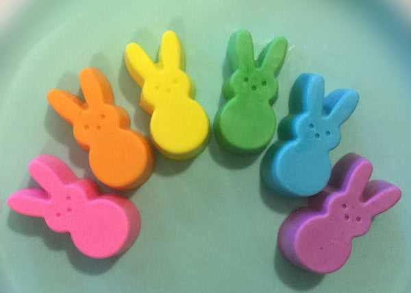 Easter Peep Chicks and Bunny Soaps - Pack of 12
