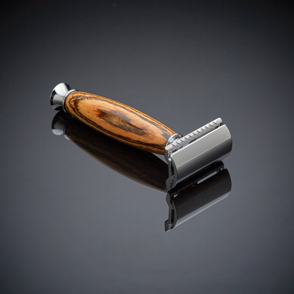 Shaving Razor- Made from Tigerwood (The Rio)