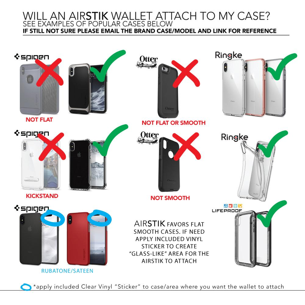 AIRSTIK WALLET - world's ONLY multiuse wallet.