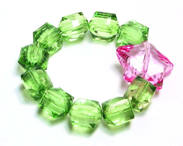 Rock Candy Bracelet with Star Bead